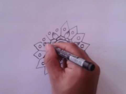 Sample Vignette Or Batik Pola Cara Membuat Gambar Vignet Sangat Sederhana Youtube