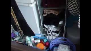 Wardrobe & Closet Tour With Ikea Algot System