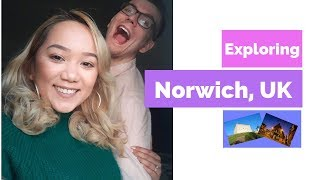 Weekend Trip to Norwich | Explore England | Travel Vlog #1