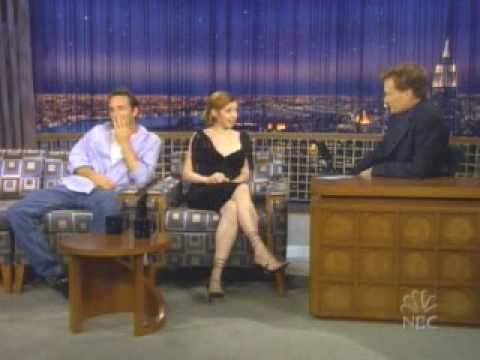 Alyson Hannigan on Conan O