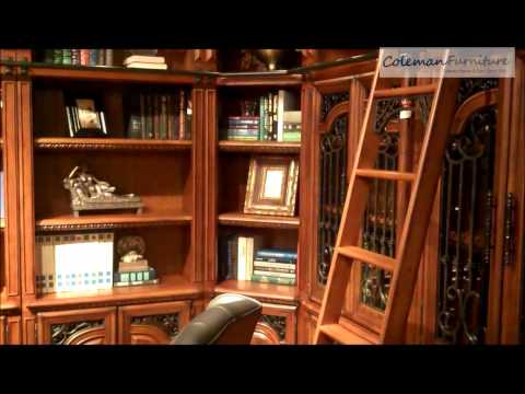 Home Library | Barcelona From Parker House Furniture