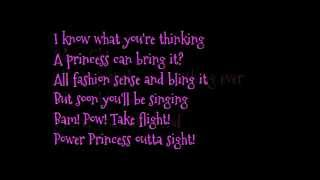 "Barbie movie song: ""Coolest Thing Ever"" lyrics on screen"