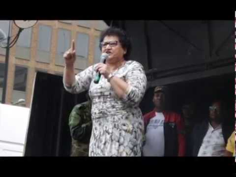 Jessie Duarte: We Cannot Have the Opposition Telling Us Who Should Lead Us