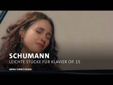 Anna Vinnitskaya | Robert Schumann: Kinderszenen. Leichte Stücke für Klavier op. 15 | SWR Classic