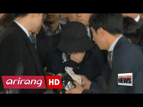 Seoul Prosecutors Arrest without Warrant Choi Soon-sil