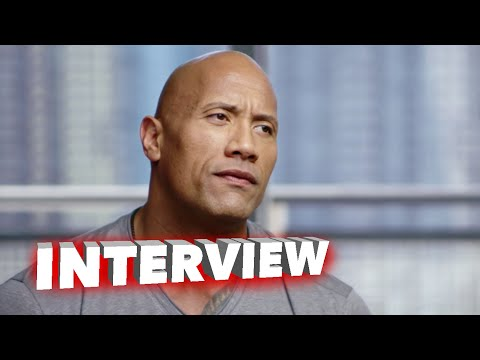 """San Andreas: Dwayne Johnson """"Ray"""" Behind the Scenes Movie Interview"""