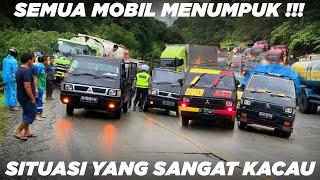 Download SEMUA MOBIL MENUMPUK !!! Keadaan Yang Sangat Kacau Macet Total di Sitinjau Lauik