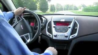 Test Drive The All New 2010 GMC Terrain SLT