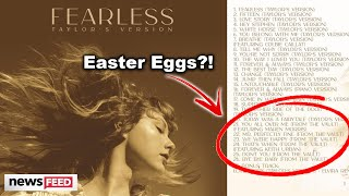 Taylor Swift 'Fearless' Vault Tracks DECODED
