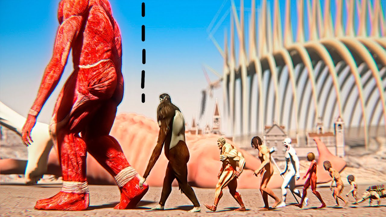 Attack On Titan Size Comparison 2021 ANIMATION