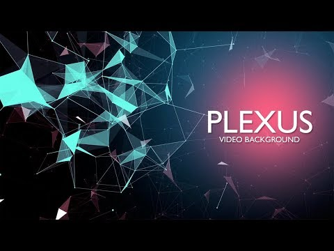 Plexus Motion Background  HD Video Loop for After Effects