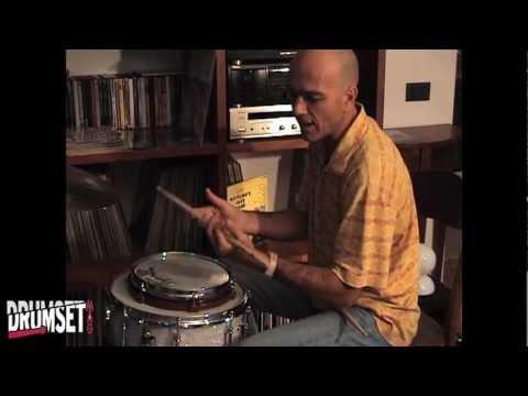 Christian Meyer: a Lezione da Enrico Lucchini [Drumset Mag n.1 Aprile 2012]