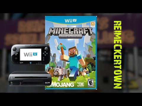 Lets show : Minecraft WII U Edition Reimeckertown April 2016 [WII U]