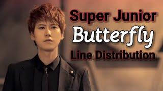Super Junior - Butterfly (Line Distribution)