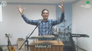 Não diga que faltou tempo | Mateus 25:1-13 | Rev. Ericon Oliveira