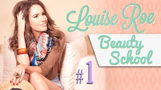 Louise Roe Winter Cheekbone Beauty Tips (Beauty School)