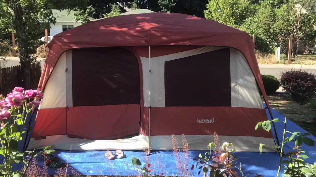 Eureka 8 Person Tent Setup & Eureka 8 Person Tent Setup - YouTube