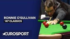 147 Classics: Ronnie O'Sullivan | Snooker | Eurosport