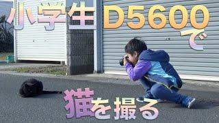 小学生とニコン D5600編