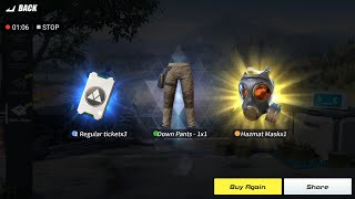 HOW TO GET THE HazMat Mask !!!!!! Rules Of Survival