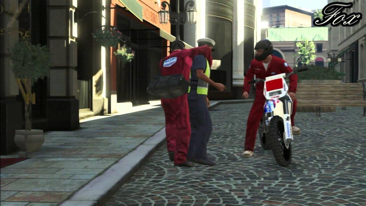 GTA 5: The Jewel Heist Smart way - YouTube