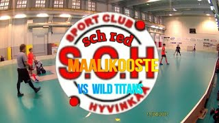 SCH Red VS Wild Titans Maalikooste