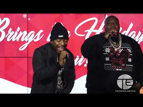 Dru Hill Surprise Performance Radio 1039 NY Christmas Party