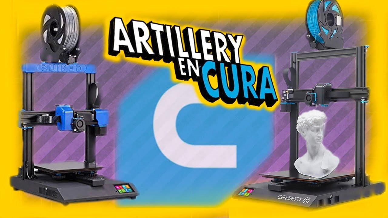 💡💡Perfil en CURA para ARTILLERY FÁCIL y EXPLICADO💡💡 Configuración Artillery X1 y Genius  Cura 4.7.1