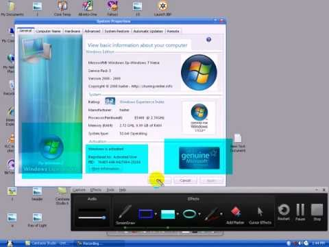 Genuine Is Genuine. Xp-vista-7 3in1 With Original Idm