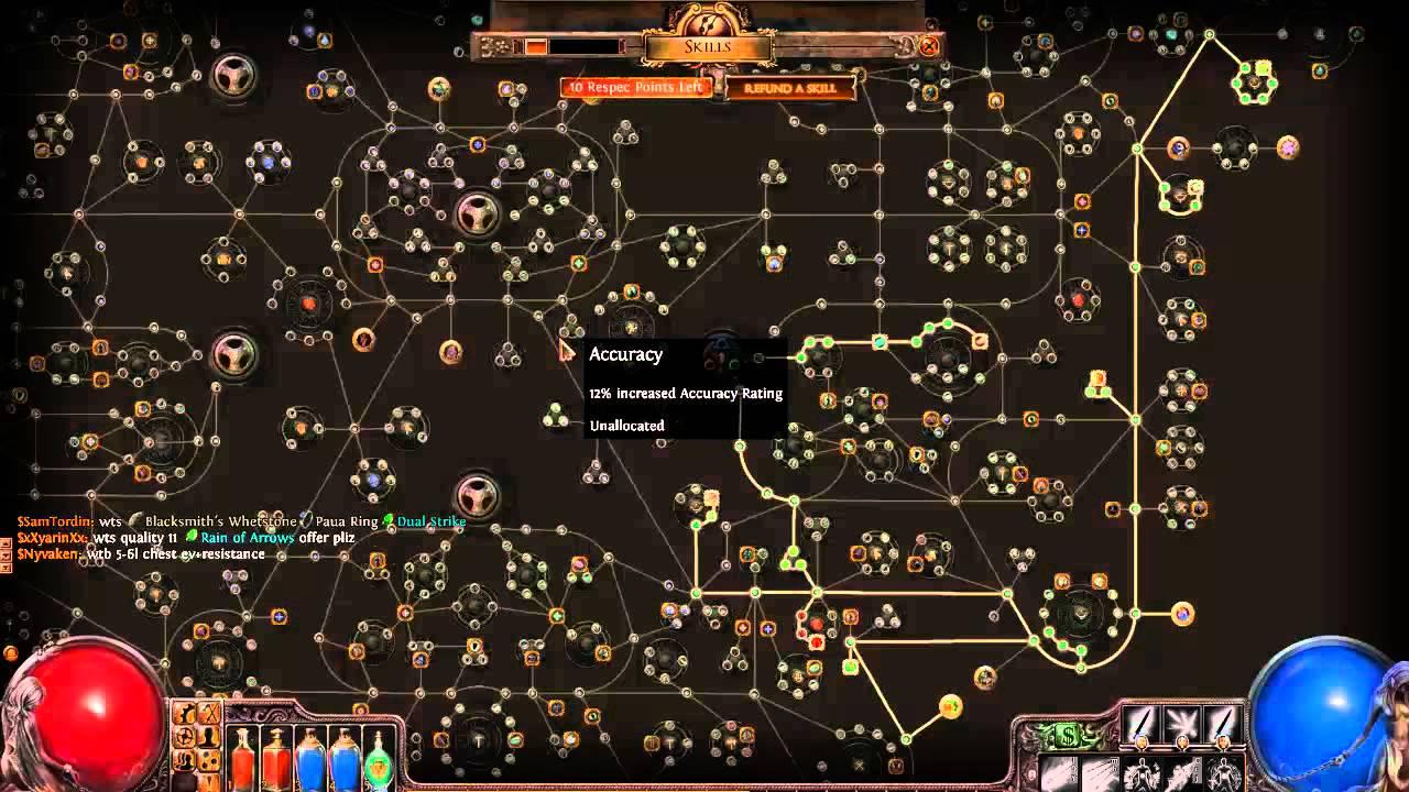 Path Of Exil Ranger Build Fr