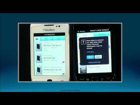 BlackBerry World 2011 - Demo - BlackBerry Messenger, Kobo and ...