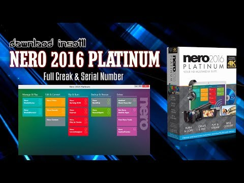 DOWNLOAD & INSTAL NERO 2016 PLATINUM GRATIS FULL CREAK