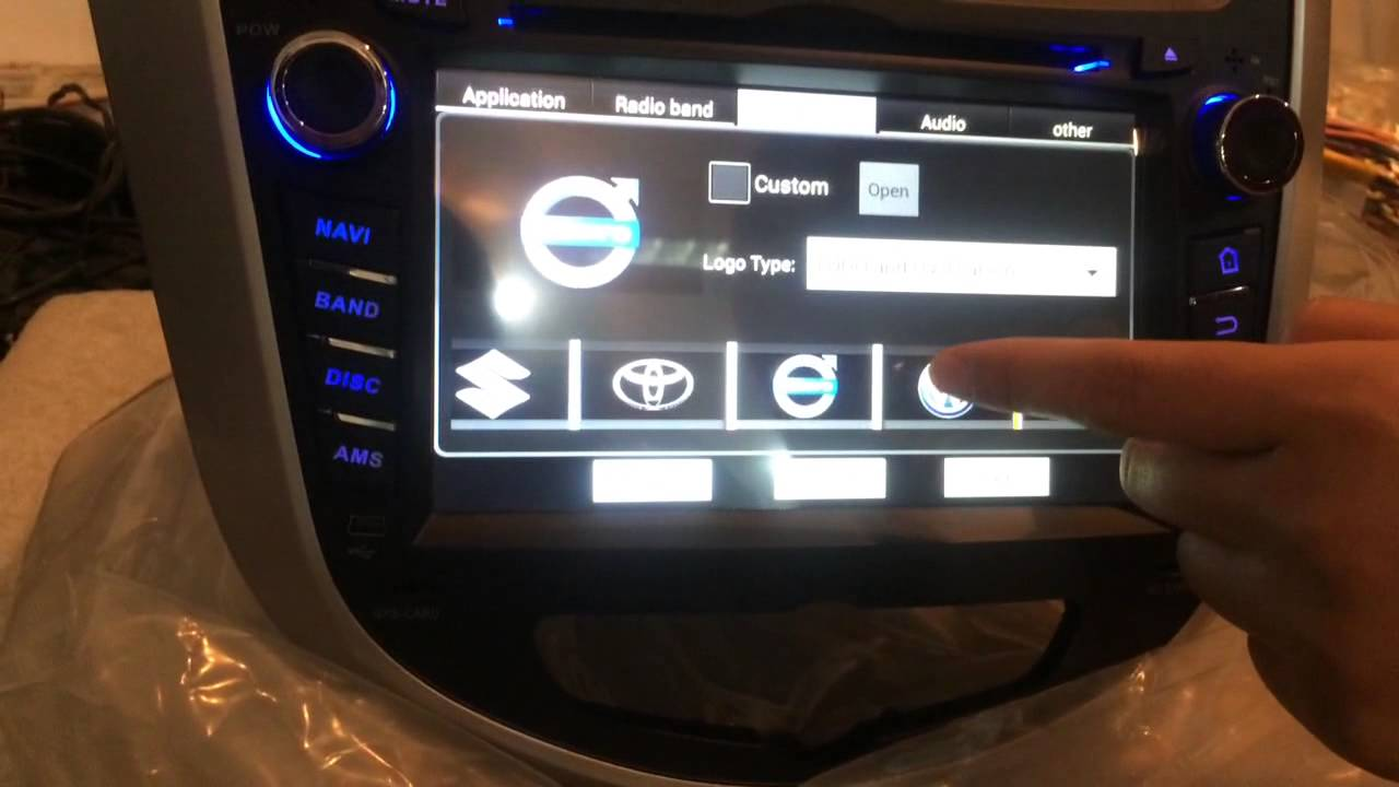 Hyundai Verna Accent Solaris 2011 2012 Android Car Dvd Navigation