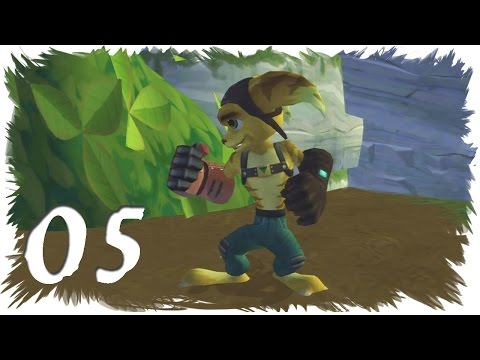 Let's Play Ratchet and Clank 1 (100% Gold Bolts) (german) - #05 - Todeshandschuh und Saugkanone