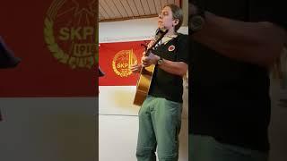 Oskar Wigren - Natt i Ekenäs (Finsk kampsång) live på Röda Stjärnan 19/5 2018