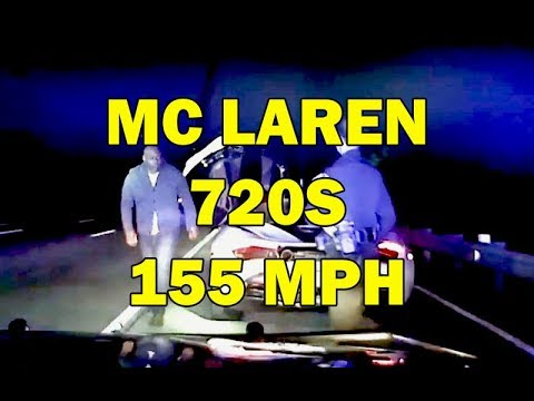 McLaren 720s Super Car Running From Georgia Cop At 155 MPH On Video - LEO Round Table episode 407