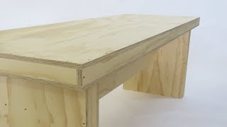 flat pack workbench in 1 day