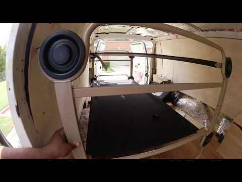 """The """"Portable"""" Disc-O-Bed can superspeed the livability of your camper van."""