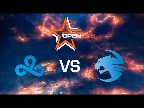Cloud9 vs. ROCCAT - Dust 2 - Group Stage - Game 1 - DreamHack Open Stockholm 2015