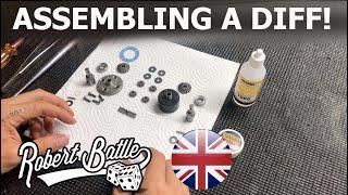 Robert Batlle tutorial - Asseṁbling a Mugen MBX8 diff!