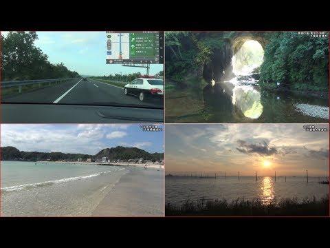 【HD等倍】 千葉県 君津・勝浦・木更津ドライブ 「Chiba  Kimitsu・Katsuura・Kisarazu drive」