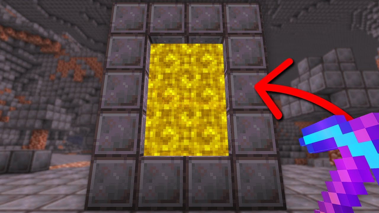 Minecraft But You Can Build Portals From Any Block...