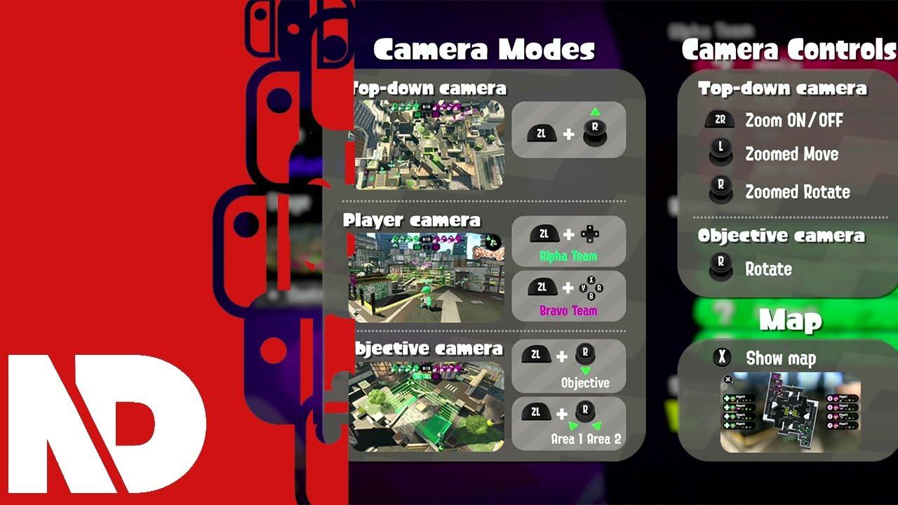 splatoon 2 spectator mode gameplay 1 youtube