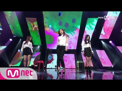 [L.U.B (DIA) - 13Months 32Days] Debut Stage | M COUNTDOWN 170112 EP.506