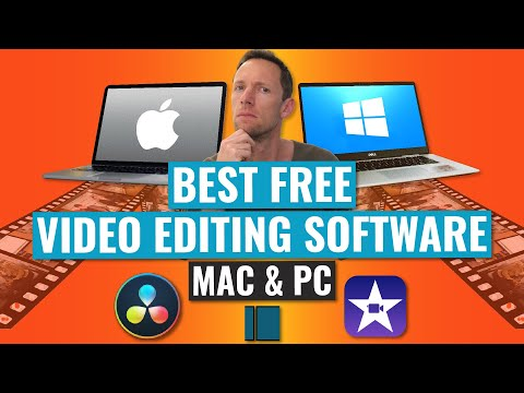 Best FREE Video Editing Software (Mac & Windows PC!)