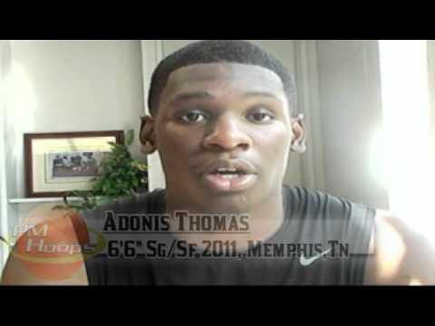 Adonis Thomas: Post-Summer Interview