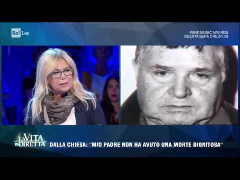 """Totò Riina, Rita Dalla Chiesa: """"Mio padre una morte dignitosa non l'ha avuta"""" - La Vita in Diretta"""
