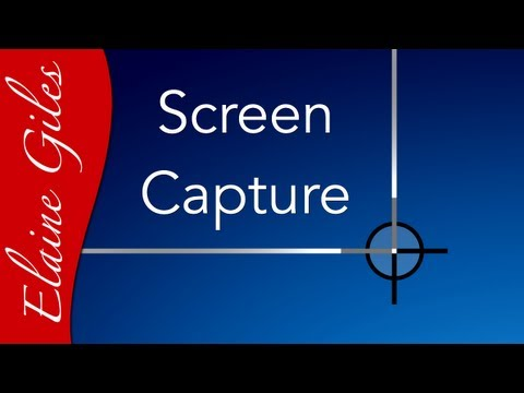 Screen Capture in Windows & Mac, Snipping Tool, Skitch and Evernote