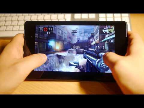 [Google Play] Выпуск 5 - Dead Trigger 2 на Nexus 7 и Moto X