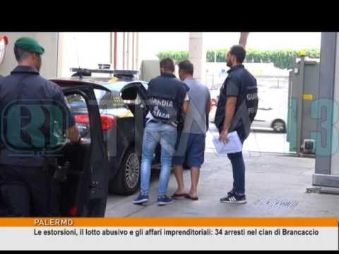 Le estorsioni, il lotto abusivo e gli affari imprenditoriali: 34 arresti [TgMed 19/07/2017]